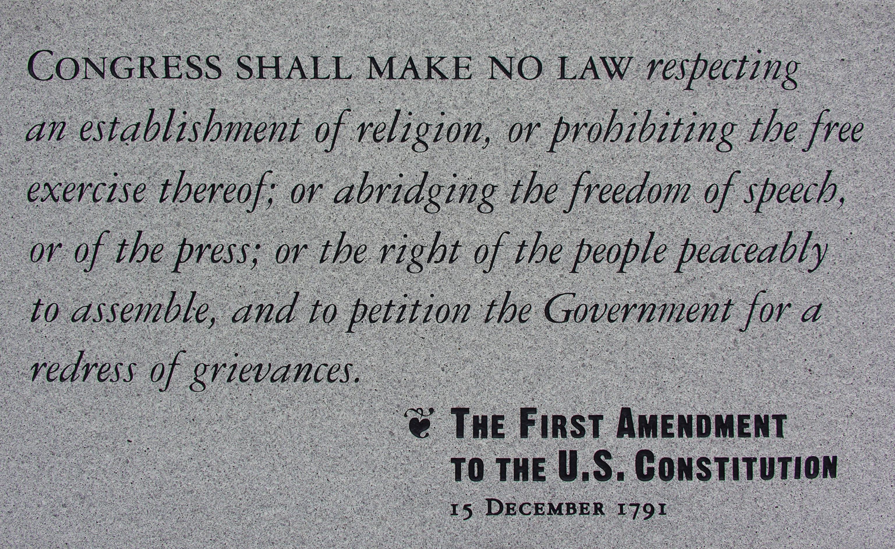 1st Amendments Pictures 1st Amendment
