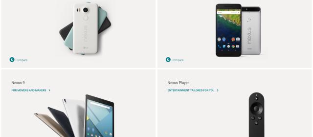 How Google Nexus Line Up Should Work